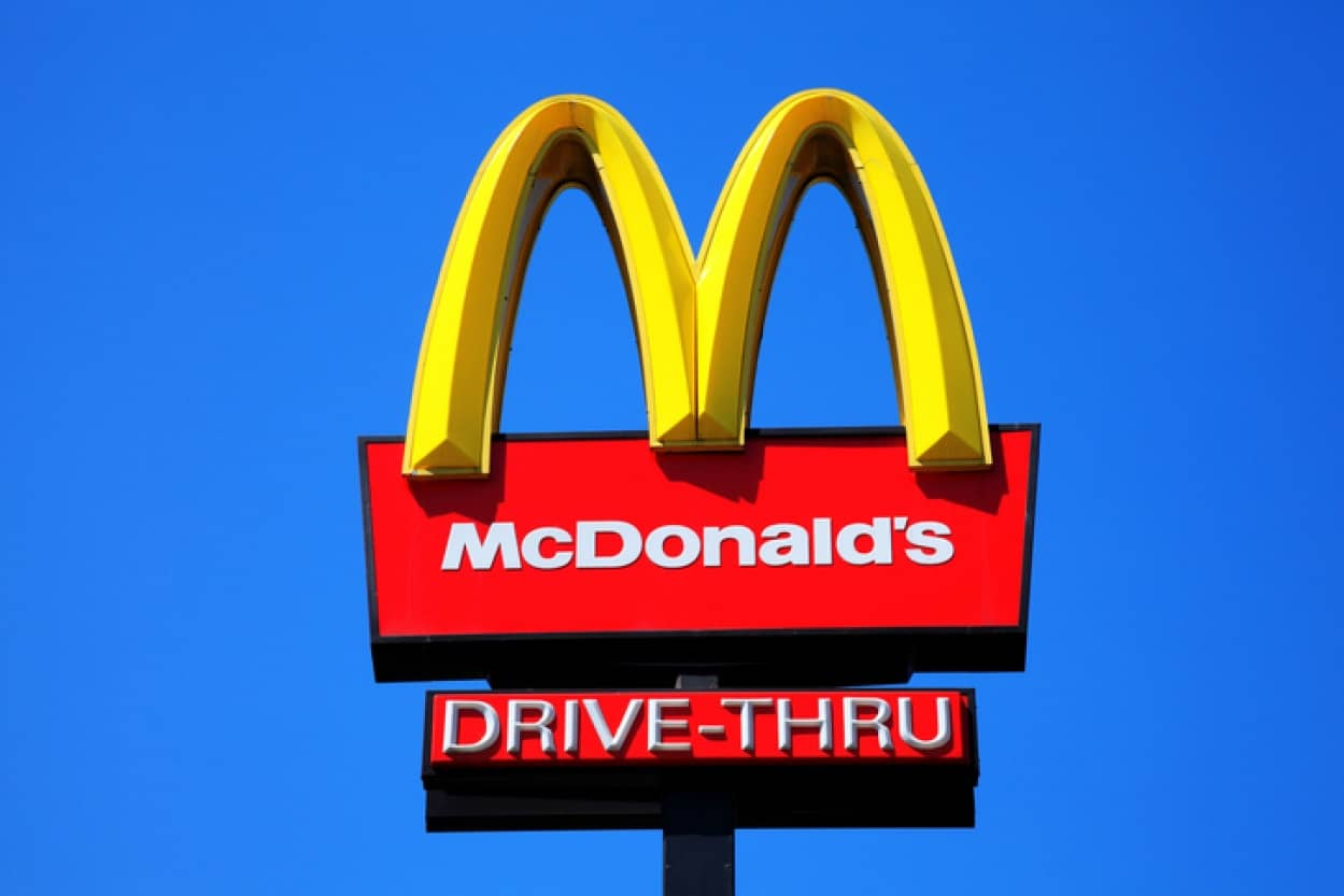 マクドナルドのドライブスルーに牛搭載車が並んでいた件