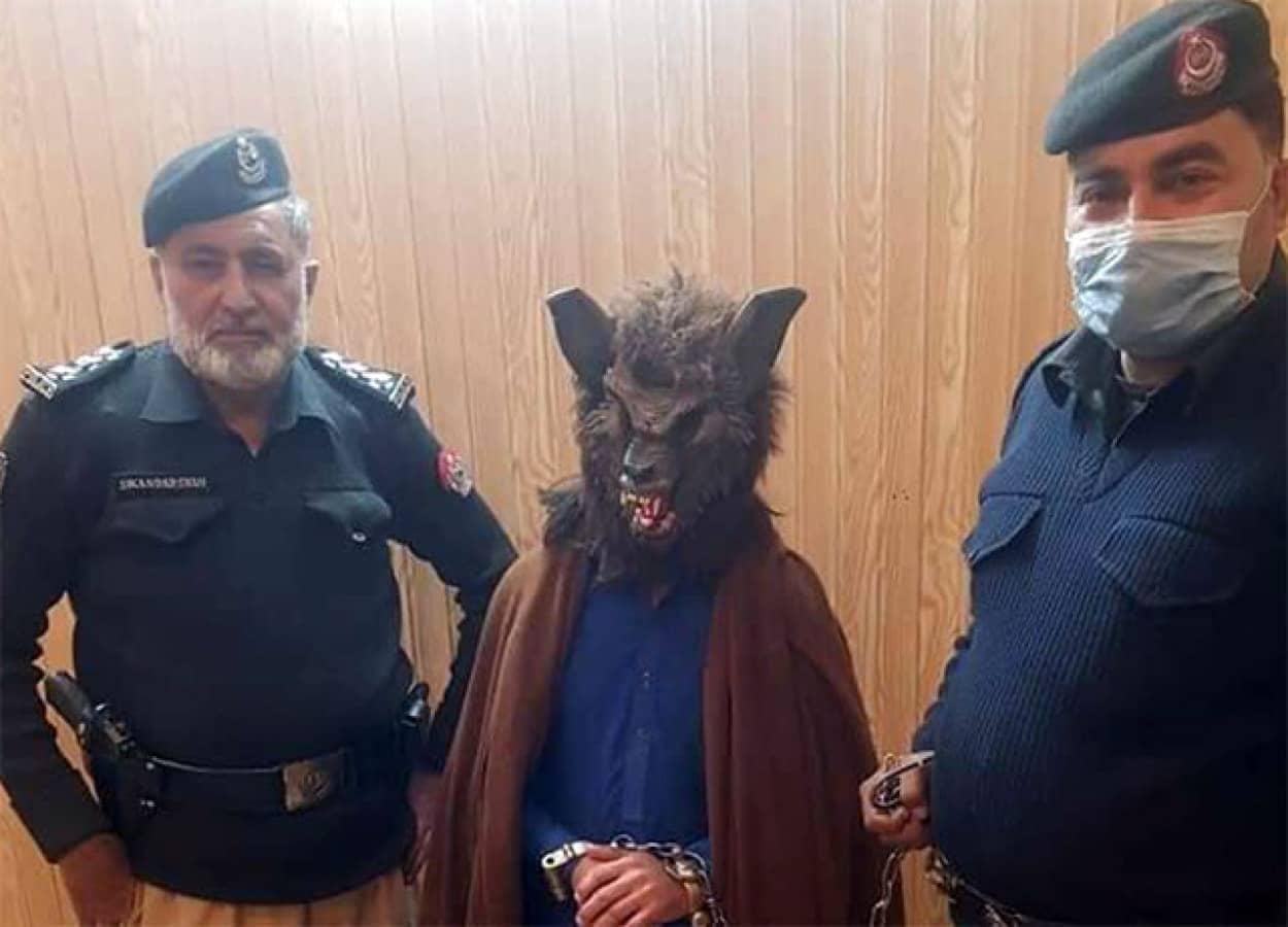 パキスタンに狼男出現