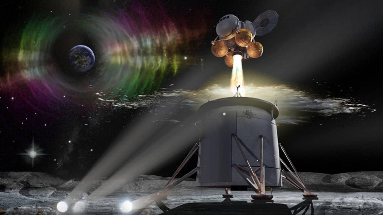 月と地球をつなぐ通信ネットワークシステム構築計画