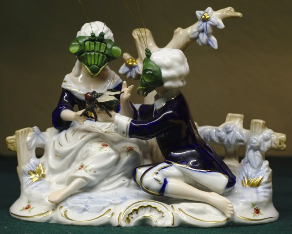 マンティスゥゥウ!カマキリ好きな人の為の西洋アンティーク風擬人化陶器