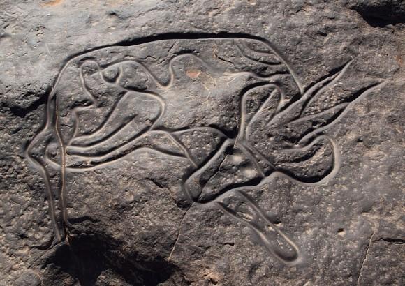 1万年もの間、人類の歴史や環境の変化が克明に描かれた先史時代の岩絵が数多く残された世界遺産 タッシリ・ナジェール(アルジェリア)