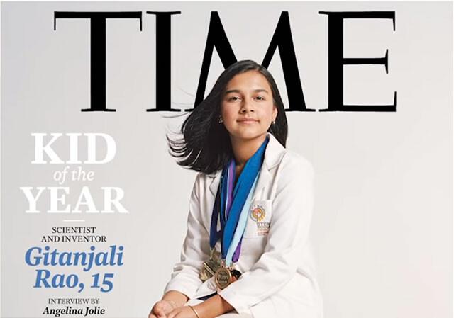 15歳の科学者がTIME誌初のキッド・オブ・ザ・イヤーに選出される