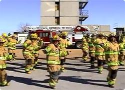 アメリカの消防士の卵たち、マイ...