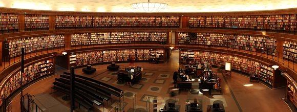 library_pixabay
