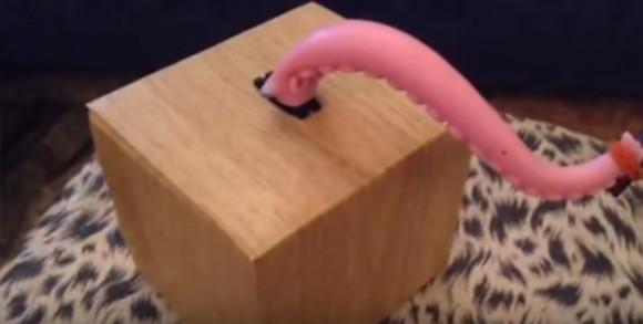 触手の暴力・・・小箱から伸びる触手が触るものみな傷つけ始めた