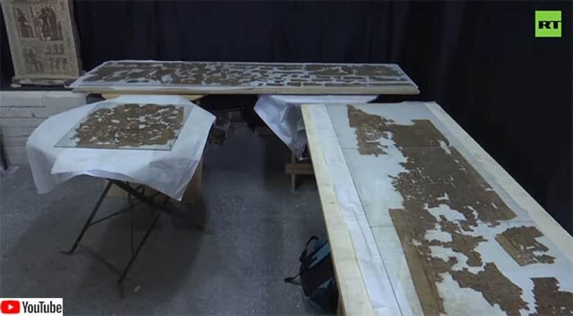 ニアリット女王の埋葬殿付近で発見された死者の書