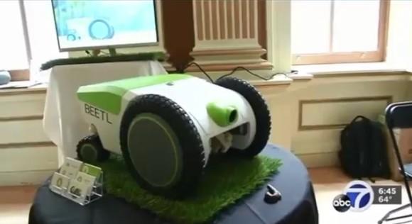 犬の散歩にイノベーション、自動で犬の糞を拾ってくれるお掃除ロボットが開発される(アメリカ)