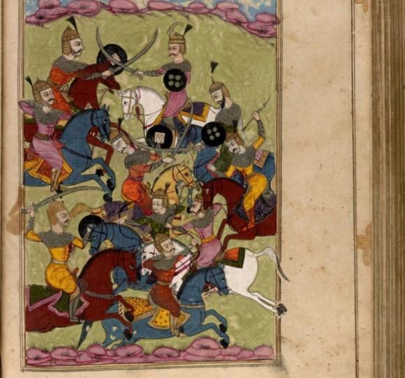 歴史的に貴重なペルシャの写本やリトグラフ、書物の数々が無料オンライン公開(米国議会図書館)