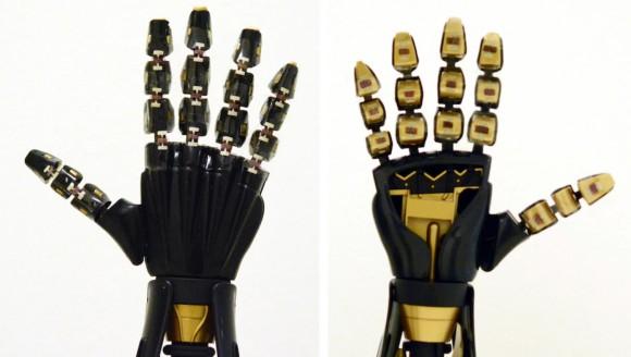 ゴムのように伸縮自在の人工皮膚でロボットの触覚を実現(米研究)