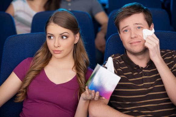 映画を観ているときに泣く人は、実は心が強い人