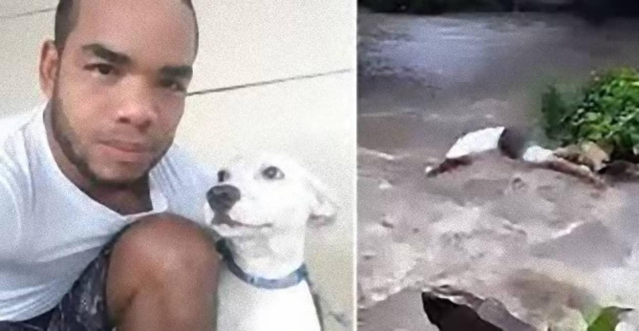 愛犬を命がけの救出