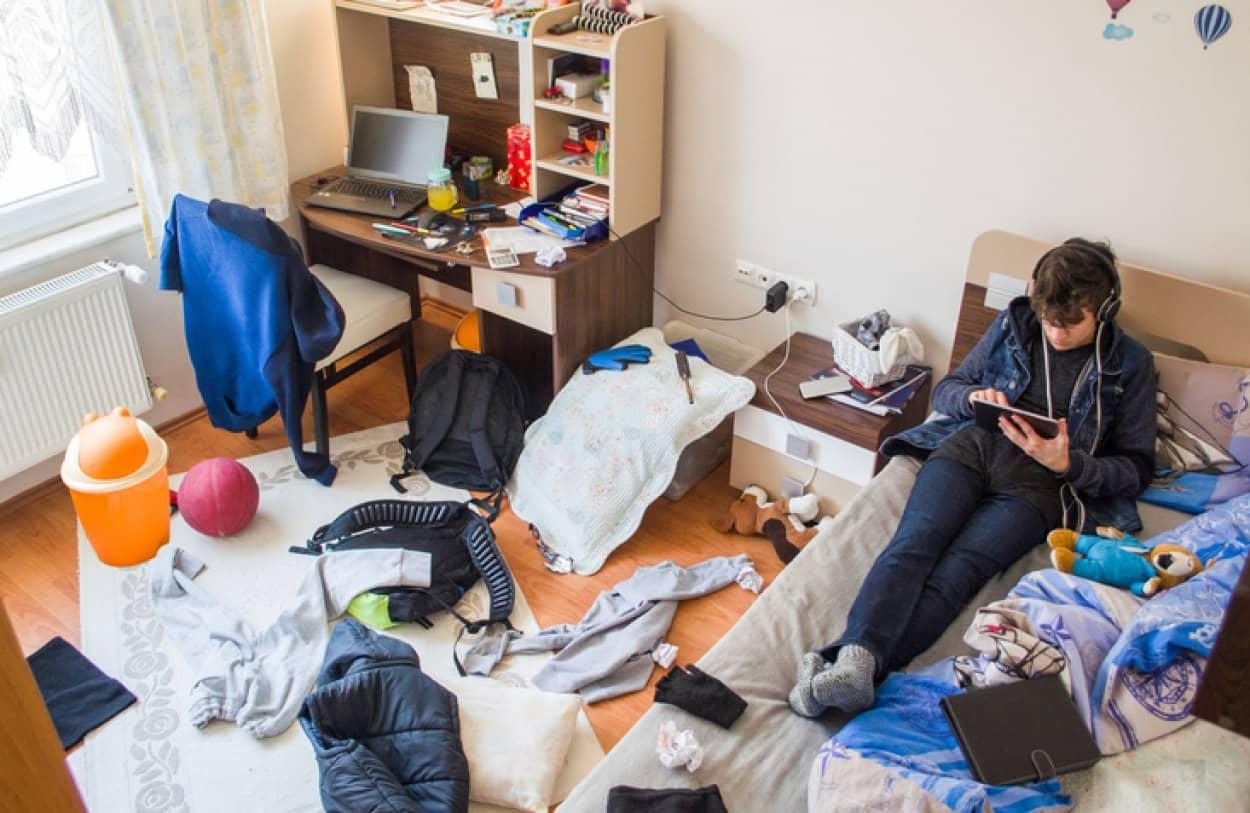 10代の子供に部屋を片付けさせる驚きのアイデア