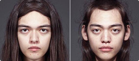 2016中山中考报名人间の顔は左右対称ではないということがよくわかる12枚の画像:カラパイア2016中山事业单位