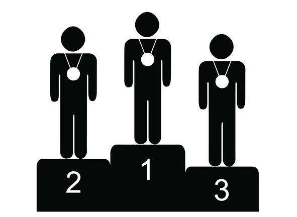 最も成功している人は過大評価されがちだが運による要素が大きい。本当に学ぶべき対象は2位や3位(英研究)