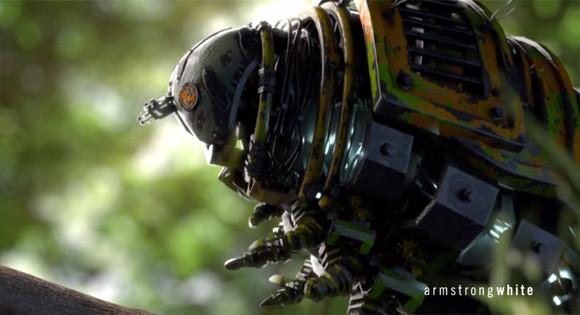 もし地球上の昆虫たちが機械仕掛けだったら?