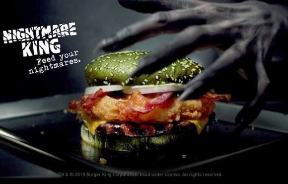 臨床実験で検証済み。食べると高確率で悪夢を見るハンバーガーを期間限定で販売するバーガーキング
