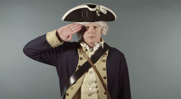 アメリカ陸軍設立240周年記念。...