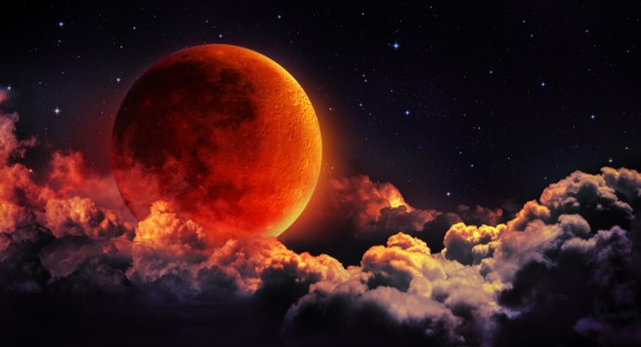 7月28日(土)明け方に皆既月食。ブラッドムーンと火星の競演がはじまる!