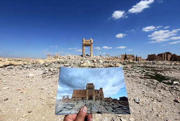戦争は歴史的建造物までもを破壊...
