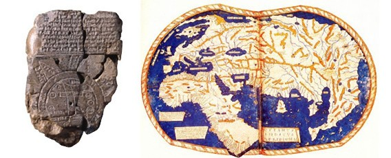 文明の発達と共に進化していく、人類のつくりし世界地図の歴史 : カラパイア