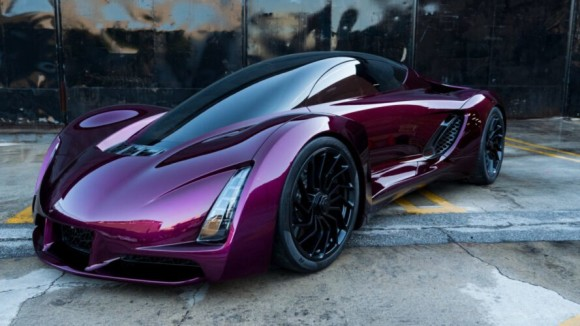 めっちゃ流線形!外装やシャーシ全てが3Dプリントで作られたスポーツカー「Blade(ブレード)」