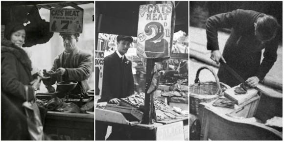 19世紀から20世紀にかけて、イギリスでは「猫肉屋」が存在した