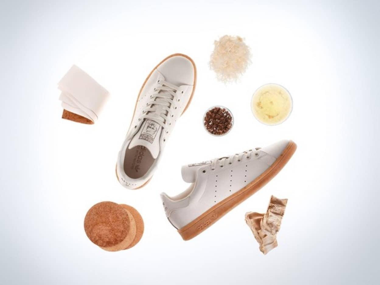 キノコの革でできたスニーカーをアディダスが発表