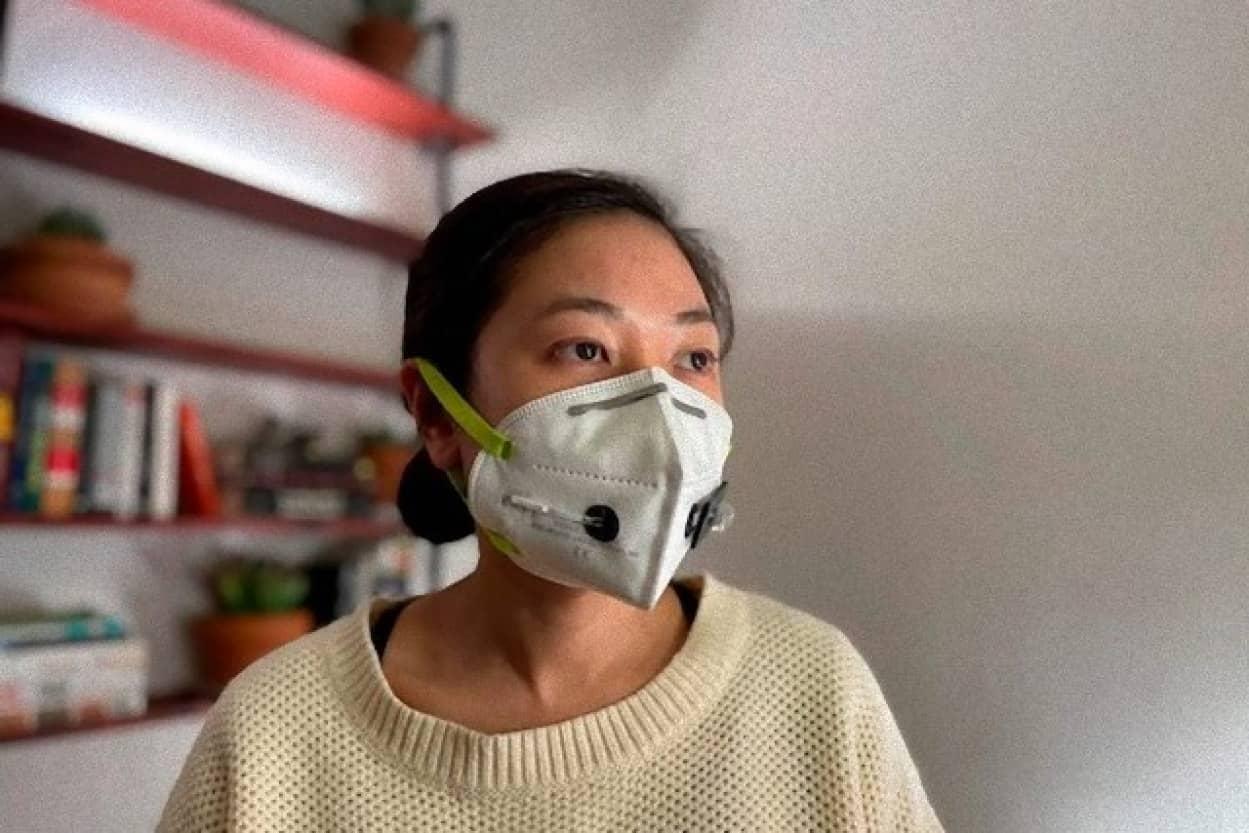 新型コロナウイルスを検出できるマスク
