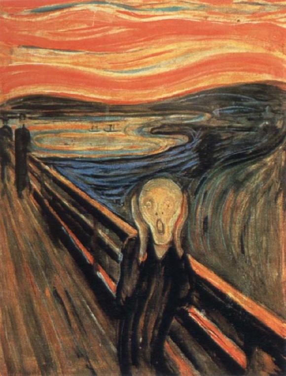 「ムンクの叫び」の画像検索結果