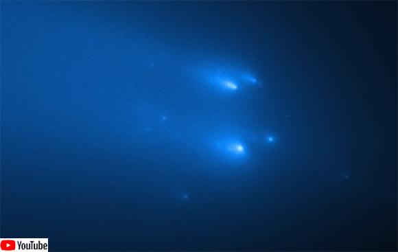 今年最大級の天体ショーと期待されたアトラス彗星、はかなく宇宙に砕け散る