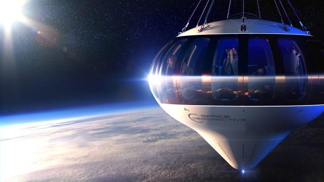未来の宇宙船プロトタイプ