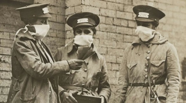 アメリカのマスクを嫌う風潮はスペイン風邪流行時からあった。1919年に結成された反マスク同盟(サンフランシスコ)