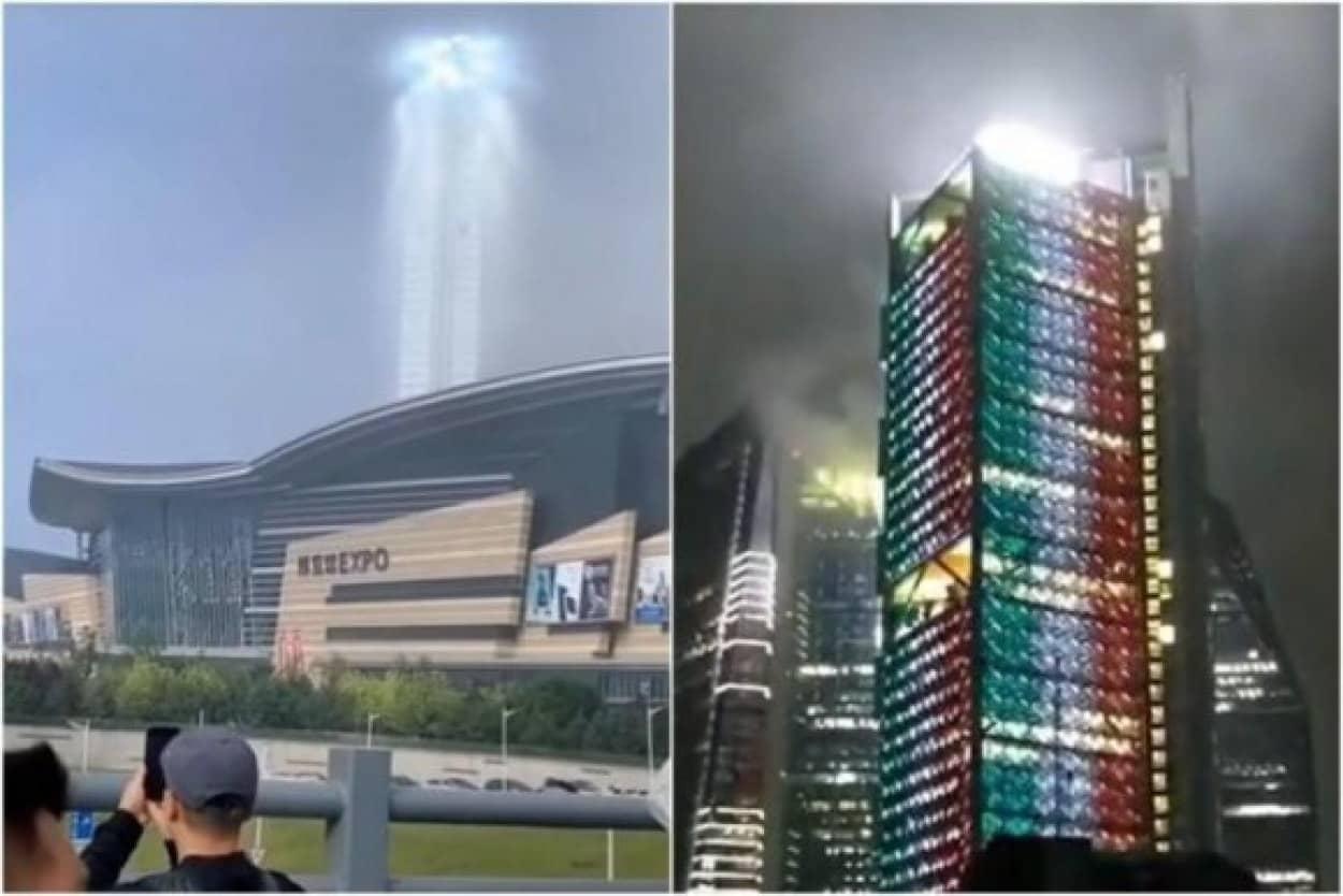 中国とメキシコで相次いで不気味な発光現象