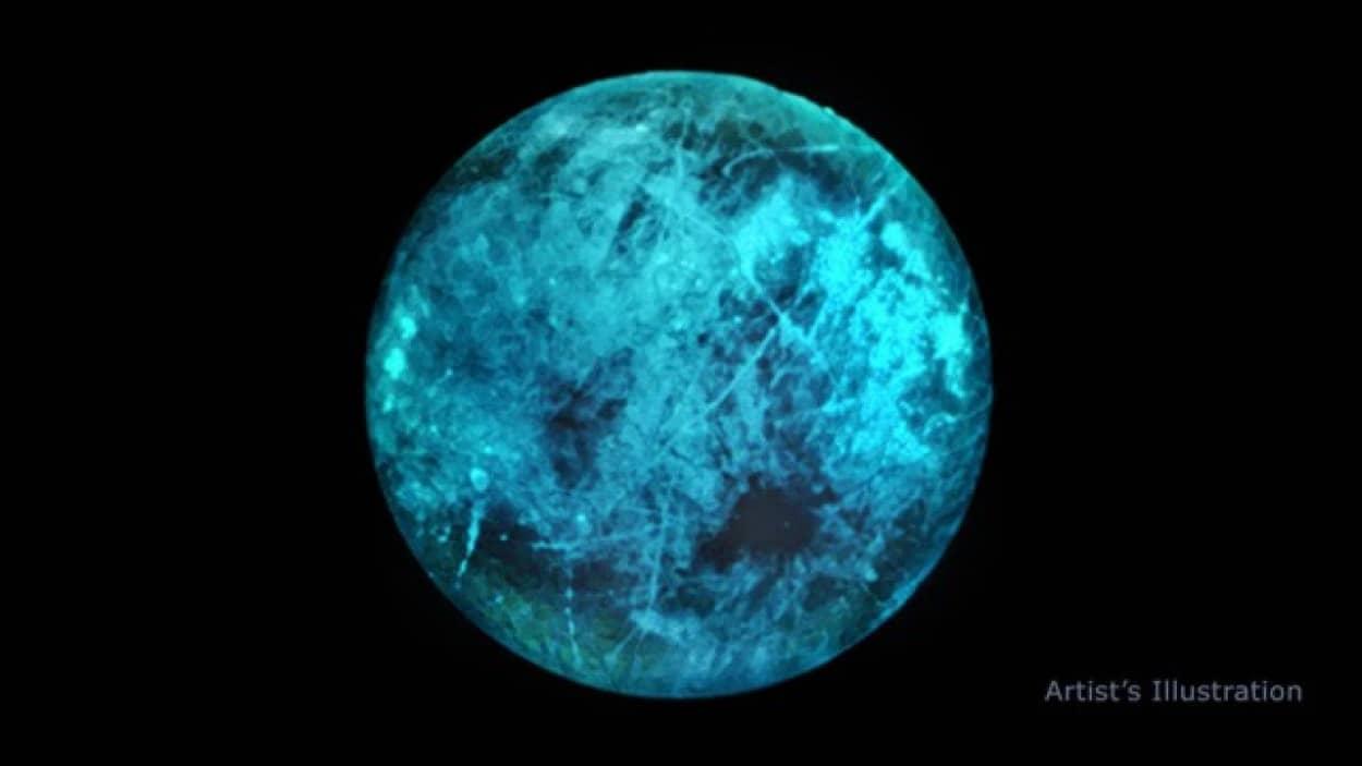 エウロパは光る衛星