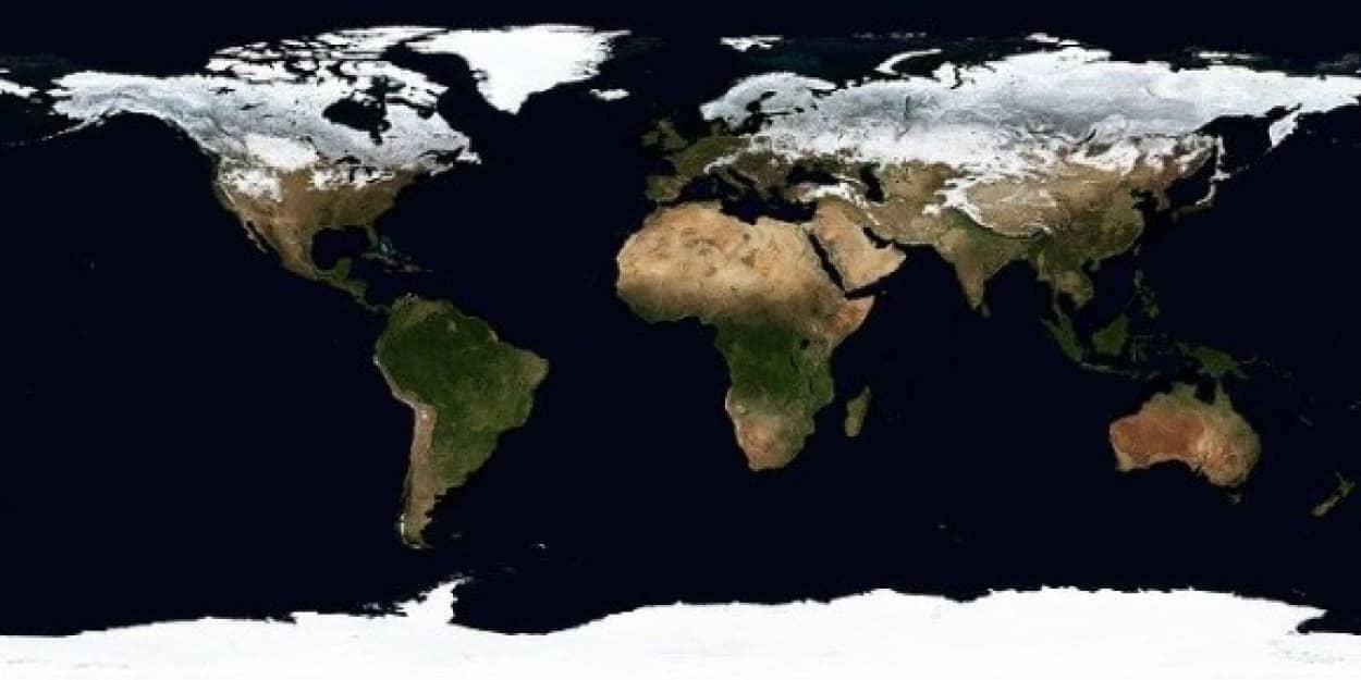 超大陸の誕生で氷河期突入の可能性