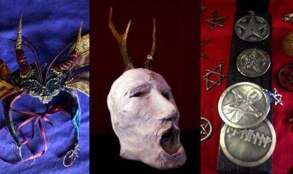 悪魔が封印された箱や魔女の水晶などをズラリと展示。オカルト的工芸品が目白押しの魔女術と魔術の博物館「バックランドギャラリー」