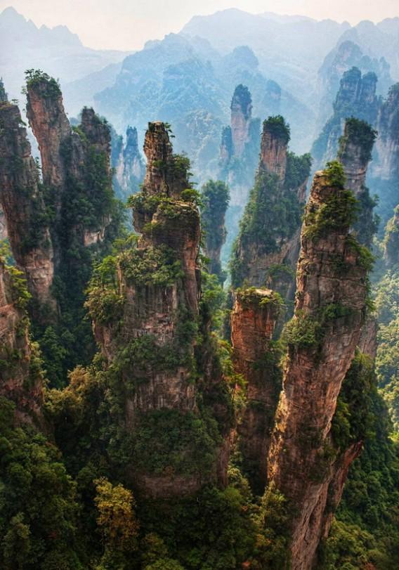 ... 家界国立森林公園 武陵源 中国