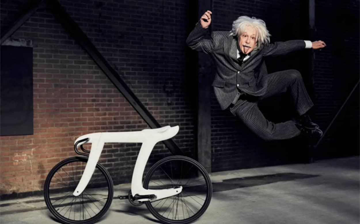 円周率を表すΠ型の自転車