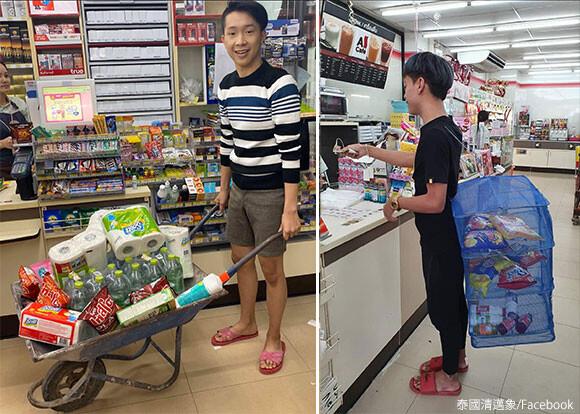 タイで大手スーパーがレジ袋を廃止に。ユニークなエコバッグを使う人が続出している件