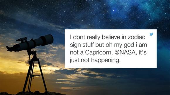 NASAの発表で全米錯乱 「占星術とか信じてるやついるみたいだけど、本当の星座はこうだからね」(※追記あり)