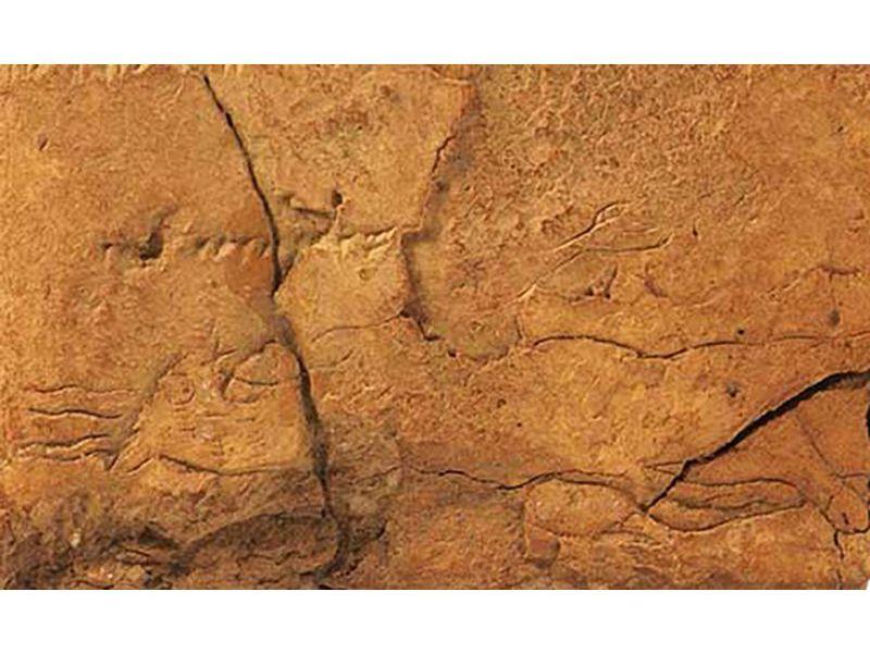 2700年前のアッシリアの粘土板に描かれた古代悪魔の姿