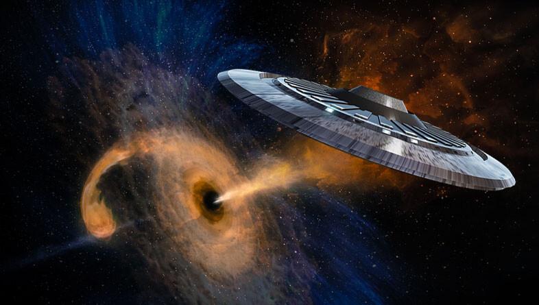 宇宙人がブラックホールからエネルギーを吸収している可能性