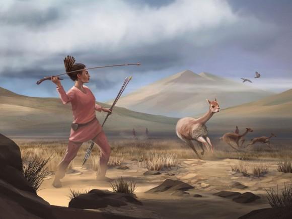 9000年前の女性は狩りをしていた