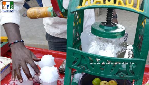 君はこの衝撃に耐えられるか?インドにある狂気のかき氷屋台