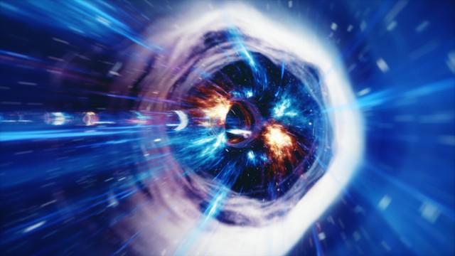 ワームホールが宇宙に潜んでいる可能性