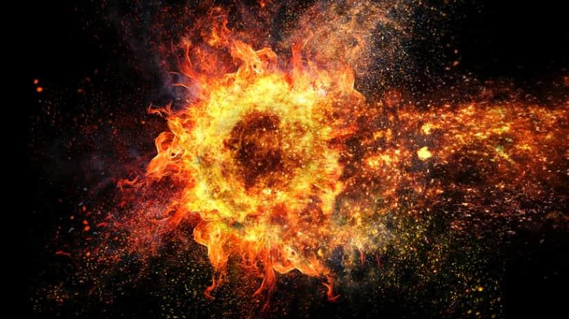 人体自然発火現象