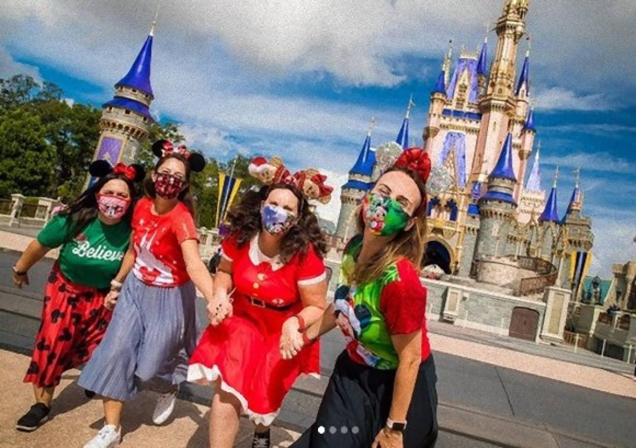 ディズニーワールド、マスクに対する配慮