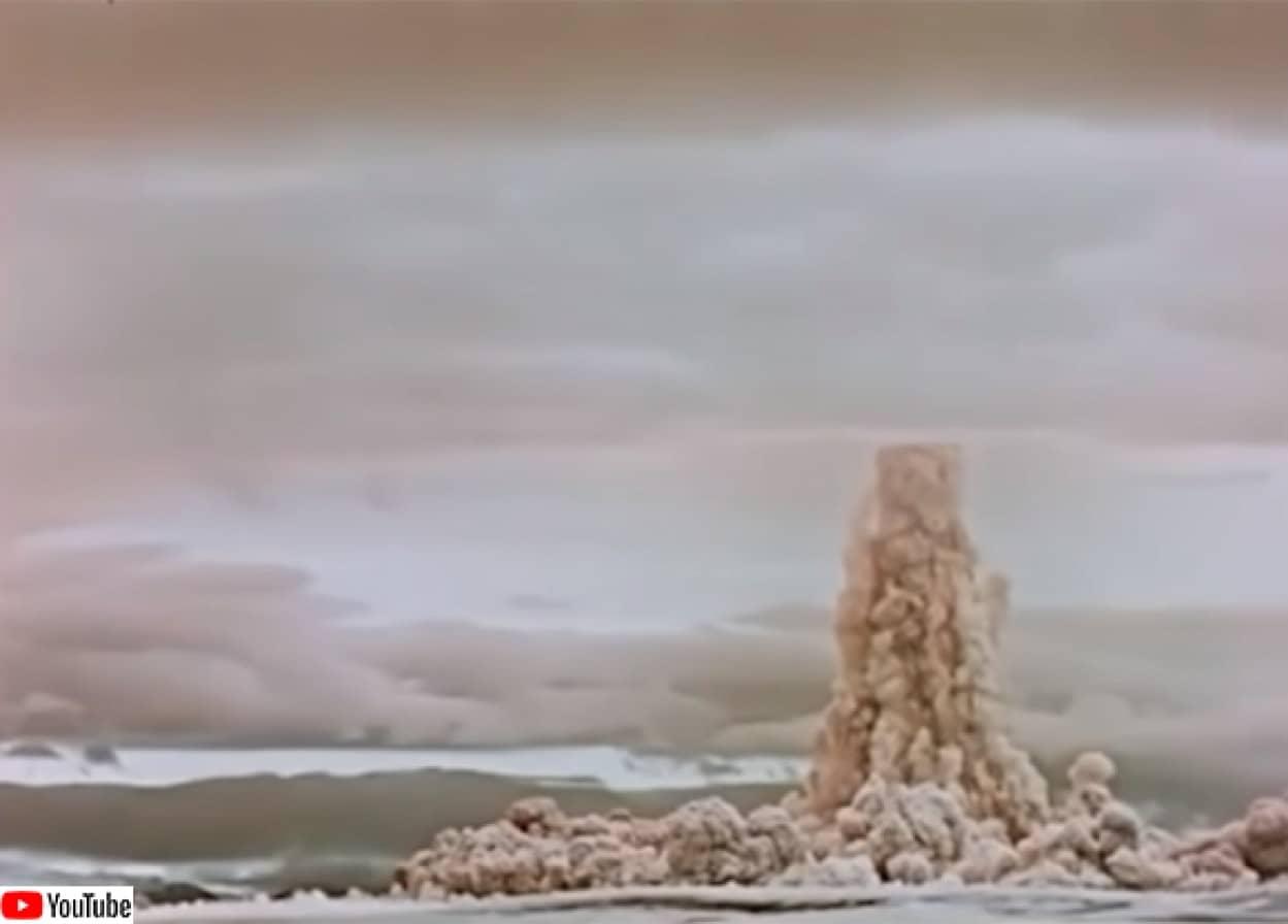 世界最大の核爆発実験映像を公開したロシア