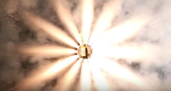 エアバッグが爆発するときって何がおきてるの?その内部がわかる映像!