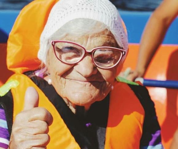 83歳から91歳まで一人で世界を旅したおばあさんの物語